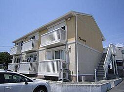 静岡県沼津市足高の賃貸アパートの外観