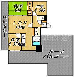 プライムモア小笹[7階]の間取り