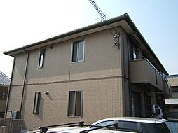 京都府宇治市五ケ庄新開の賃貸アパートの外観