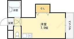 ダゼアマンション[402号室]の間取り