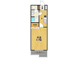 メゾンピノ[2階]の間取り