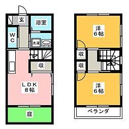 Home One[2階]の間取り