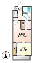 Residence Bojoh[2階]の間取り
