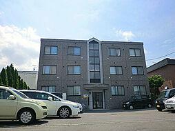 北海道札幌市東区北四十五条東12丁目の賃貸マンションの外観