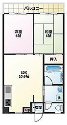トータスマンション[4階]の間取り
