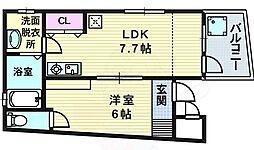 天神橋筋六丁目駅 7.5万円