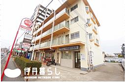 兵庫県伊丹市昆陽東5丁目の賃貸マンションの外観