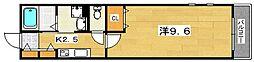 サテンドール セレーネ[1階]の間取り