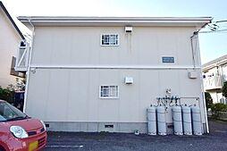 神奈川県厚木市中依知の賃貸アパートの外観