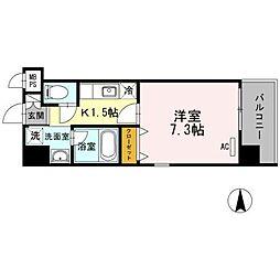 PRINCE54[7階]の間取り