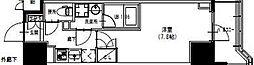 東武亀戸線 曳舟駅 徒歩5分の賃貸マンション 9階1Kの間取り