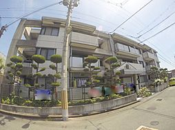 大阪府池田市渋谷3丁目の賃貸マンションの外観