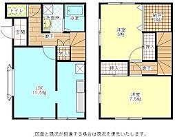 [テラスハウス] 東京都町田市南成瀬2丁目 の賃貸【/】の間取り