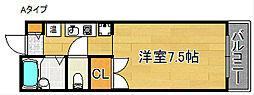 マ・メゾン21[3階]の間取り