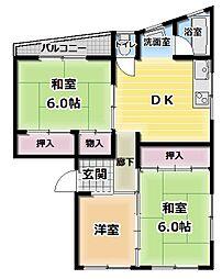 昌和ビル[5階]の間取り