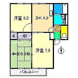 シオン神田I[1階]の間取り