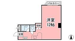 愛媛県松山市東雲町の賃貸マンションの間取り