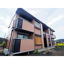 京都府木津川市加茂町里の賃貸アパートの外観