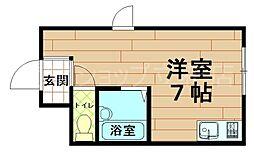 ポート立花[3階]の間取り