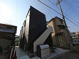愛知県名古屋市中村区沖田町の賃貸アパートの外観
