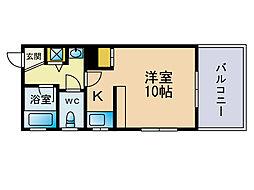 ルネッサンス赤坂[4階]の間取り