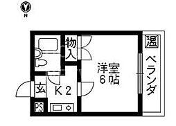 テラスICHI[210号室号室]の間取り