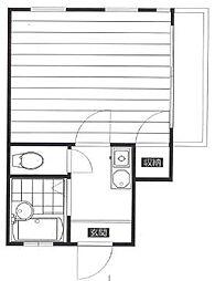 パストマンション町屋[2階]の間取り