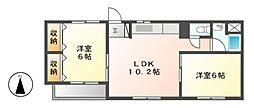 共栄ビル[3階]の間取り