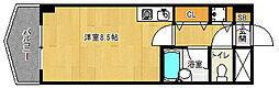 京都府京都市西京区川島東代町の賃貸マンションの間取り