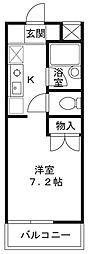 アート・フル稲田堤[302号室]の間取り