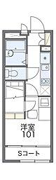 Osaka Metro中央線 緑橋駅 徒歩6分の賃貸アパート 2階1Kの間取り