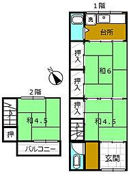 [タウンハウス] 大阪府堺市堺区出島海岸通1丁 の賃貸【/】の間取り