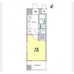 コフレ横浜星川[406号室]の間取り