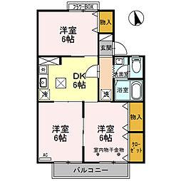 サンシャイン大塚 B棟[101号室号室]の間取り