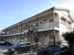 千葉県流山市加4丁目の賃貸アパートの外観