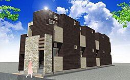 愛知県名古屋市東区黒門町の賃貸アパートの外観