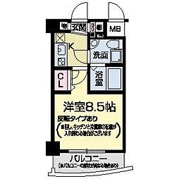 セレニテ甲子園I[0406号室]の間取り