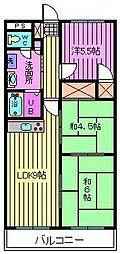 上小町大鉄ビル[3階]の間取り
