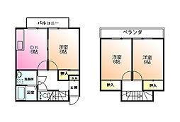 [テラスハウス] 東京都町田市三輪町 の賃貸【/】の間取り