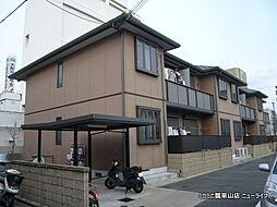大阪府東大阪市岩田町3丁目の賃貸アパートの外観