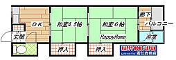 [テラスハウス] 大阪府東大阪市御厨南2丁目 の賃貸【/】の間取り