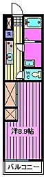 リブリ・Fairy Wood[2階]の間取り