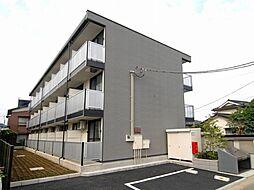 千葉県流山市加2丁目の賃貸マンションの外観