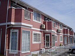 千葉県流山市美原3丁目の賃貸アパートの外観