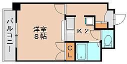 エミネンス藤[6階]の間取り