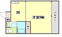 マンション第三松戸[7階]の間取り