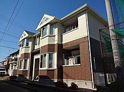 愛知県一宮市九品町3丁目の賃貸アパートの外観