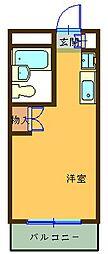 マツモトビル[406号室]の間取り