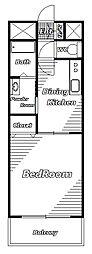 アルファヴィレッジ[3階]の間取り