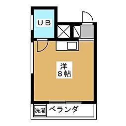 ユー・マブチ[2階]の間取り